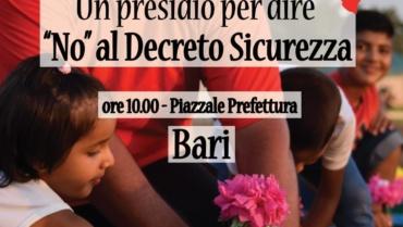 No al Decreto Sicurezza. Oasi2 al presidio del Coordinamento Progetti Sprar Puglia