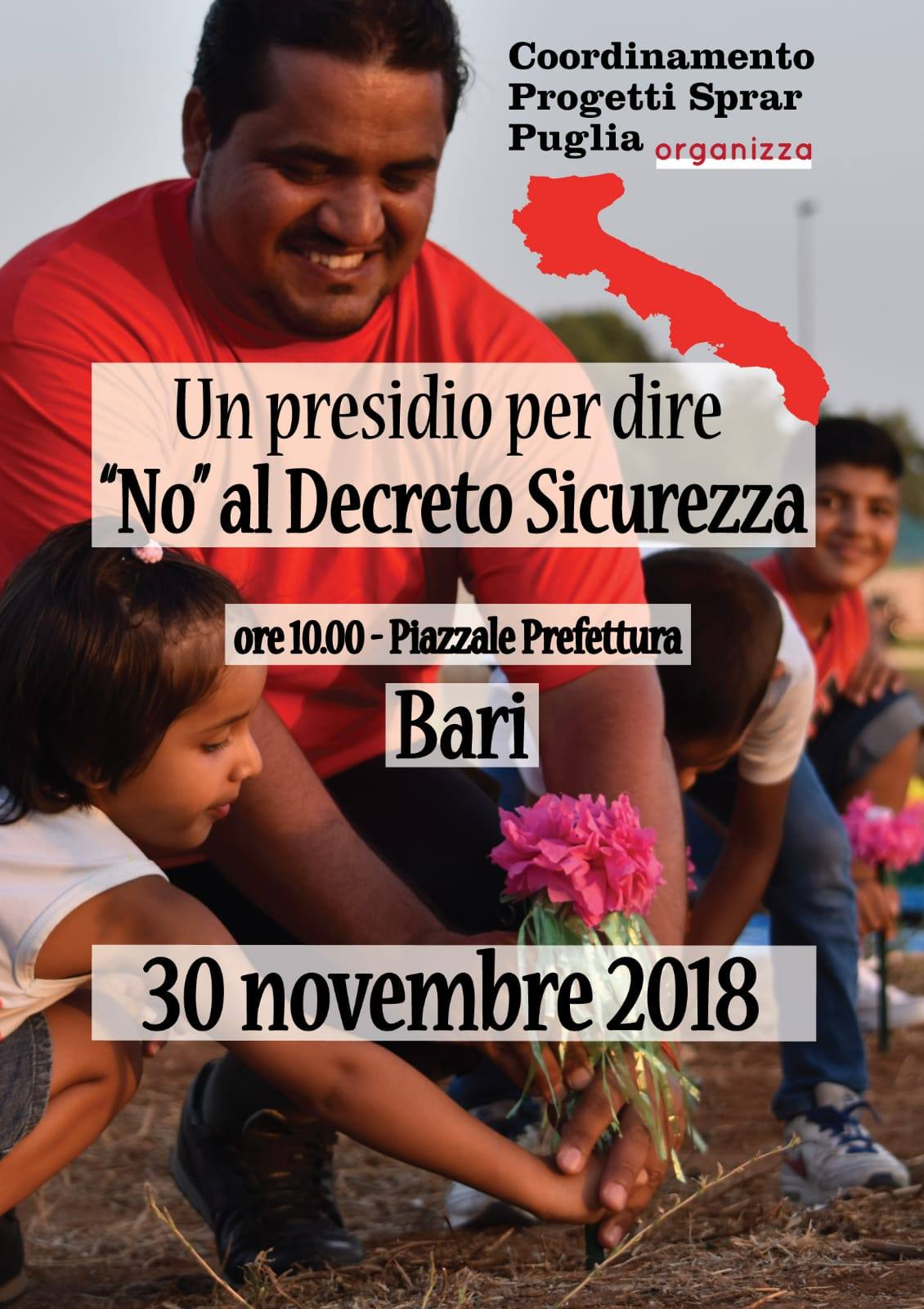 No decreto sicurezza