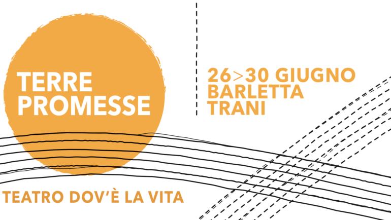La Comunità Oasi2 ospita la rassegna teatrale 'Terre Promesse'