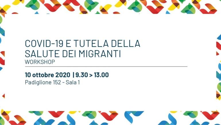 """""""Covid-19 e tutela della salute dei migranti"""", sabato il workshop in Fiera del Levante"""