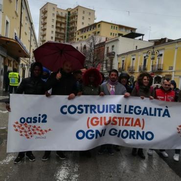 La Comunità Oasi2 a Brindisi con Libera Puglia