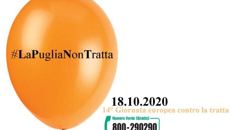 18 ottobre, Giornata europea contro la tratta degli esseri umani