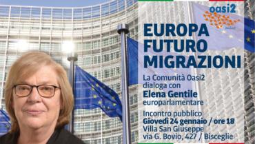 Europa, futuro, migrazioni. Incontro con Elena Gentile